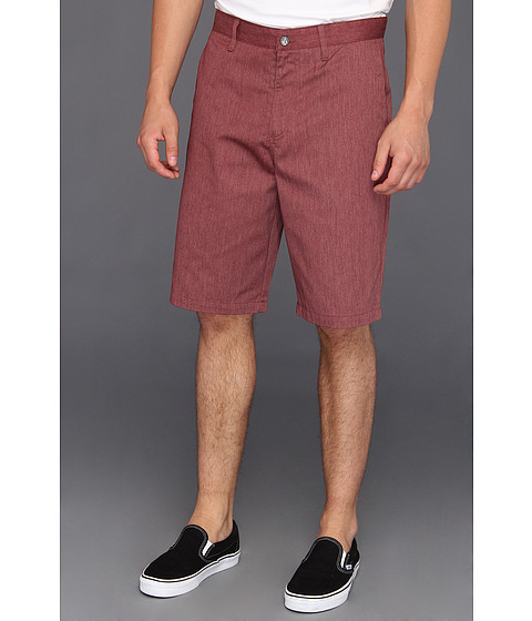 Pantaloni Volcom - Relaxed Fit Frickin Too Chino Short - Burgundy