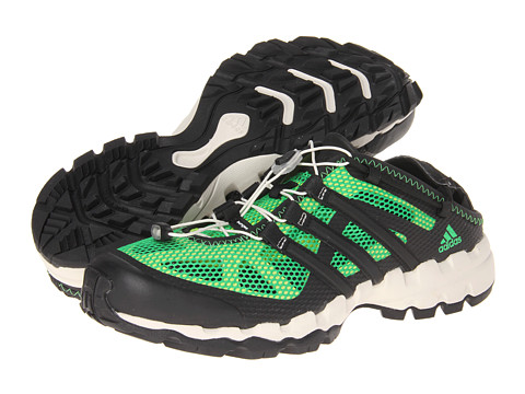 Adidasi adidas - Hydroterra Shandal - Vivid Green/Black/Solar Slime