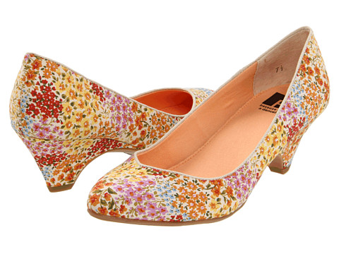 Pantofi BC Footwear - In The Winners Circle - Orange Floral