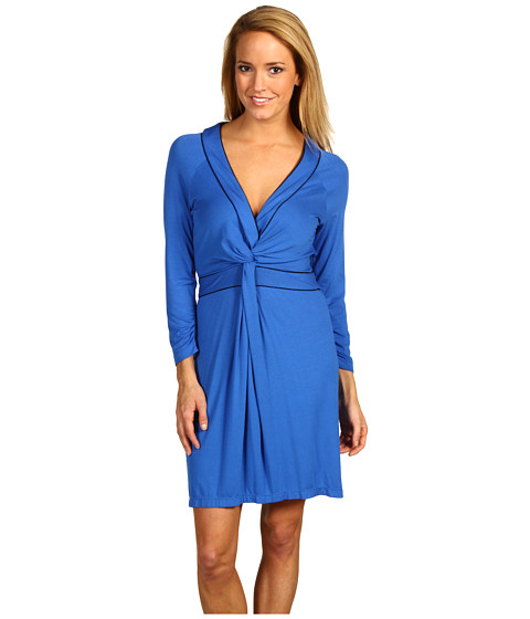 Rochii BCBGeneration - V-Neck Twist Dress - Larkspur Blue