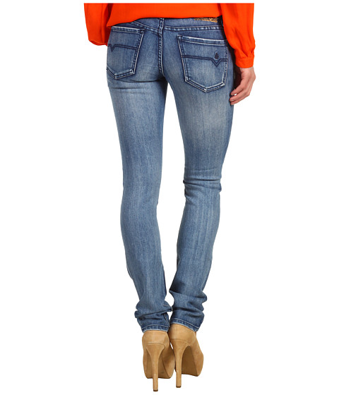 Pantaloni Volcom - Stix Skinny Jean in Thalia Blue - Thalia Blue