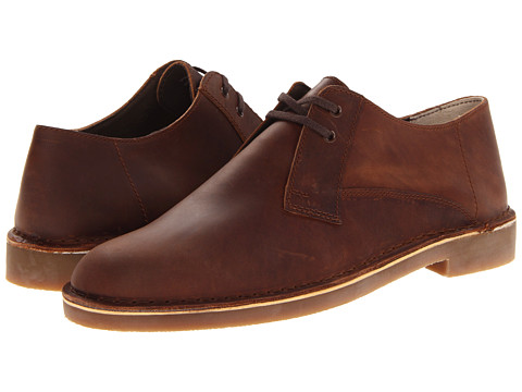 Pantofi Clarks - Bushacre Lo - Dark Brown Leather