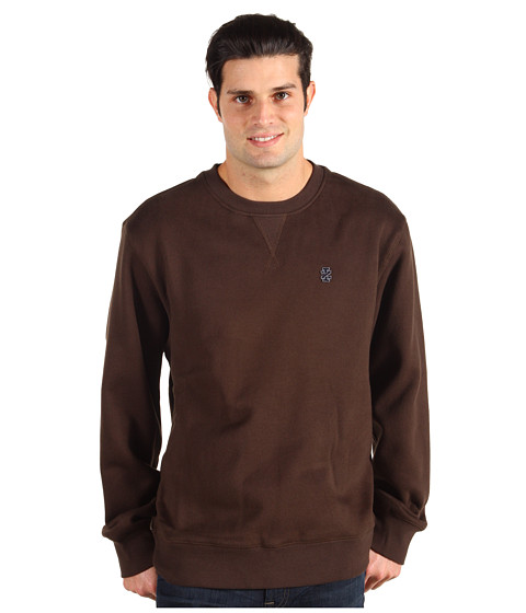 Bluze IZOD - L/S Crew Neck Varsity Fleece - Bengali Brown
