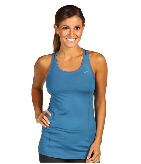 Tricouri Nike - Shape Long Bra - Shaded Blue/Shaded Blue/Cool Grey/Cool Grey