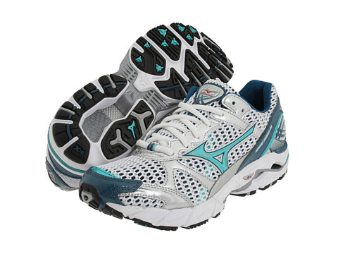 Adidasi Mizuno - Wave® Rider⢠14 - White/Ceramic-Ink Blue