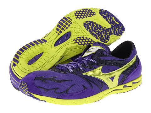 "Adidasi Mizuno - WaveÃ'® Universeâ""¢ 4 - Royal Purple/Lime Punch"