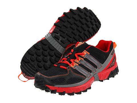 Adidasi Adidas Running - Kanadia 4 TR M - Black/Scarlet/Iron