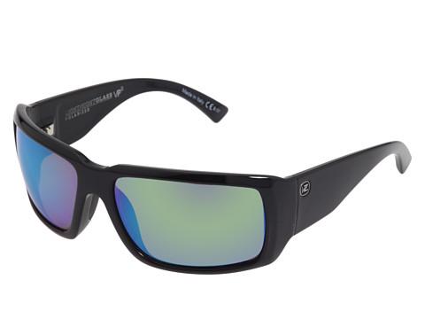 Ochelari Von Zipper - Drydock Polarized - Black/Green Glass Polarized Lens
