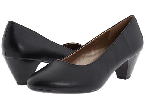 Pantofi Soft Style - Guiliana - Black Vitello