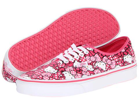 Adidasi Vans - Authenticâ⢠(Hello Kitty) - (Hello Kitty) Morning Glory/Hot Pink