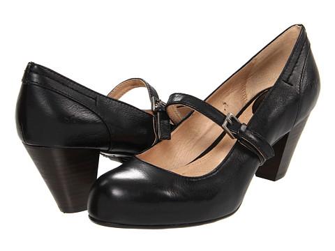 Pantofi Frye - Lois MJ - Black Soft Vintage Leather