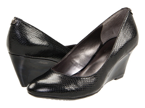 Pantofi Anne Klein - Maisie - Black Snake