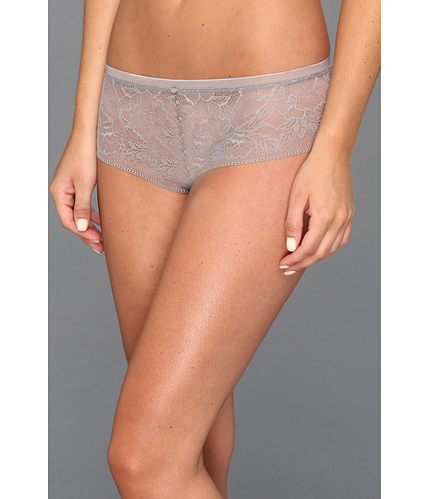 Lenjerie Calvin Klein - Naked Glamour All Lace Hipster - Volcanic Glass