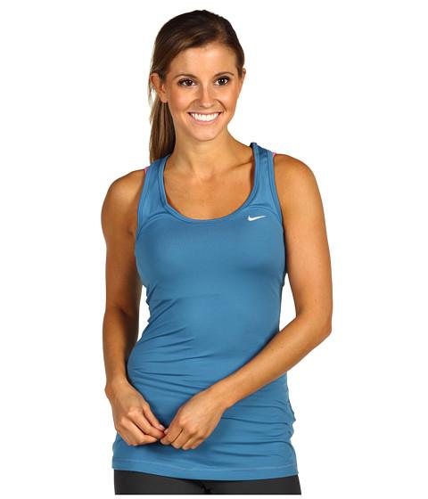 Tricouri Nike - Essential Knit Tank - Shaded Blue/Matte Silver
