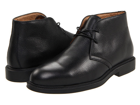 Ghete Florsheim - Vance - Black Tumbled Leather