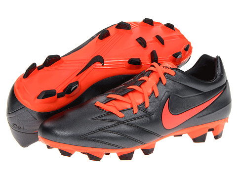 Adidasi Nike - T90 Strike IV FG - Black/Total Crimson/Total Crimson