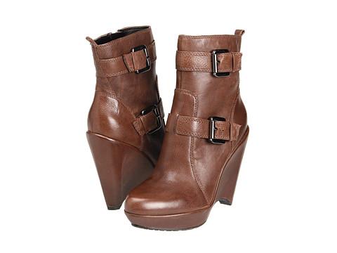 Ghete Enzo Angiolini - Carsen - Dark Brown Leather