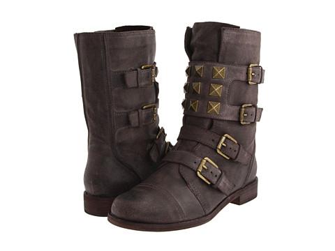 Ghete Michael Kors - Newbury - Dark Mushroom Washed Leather