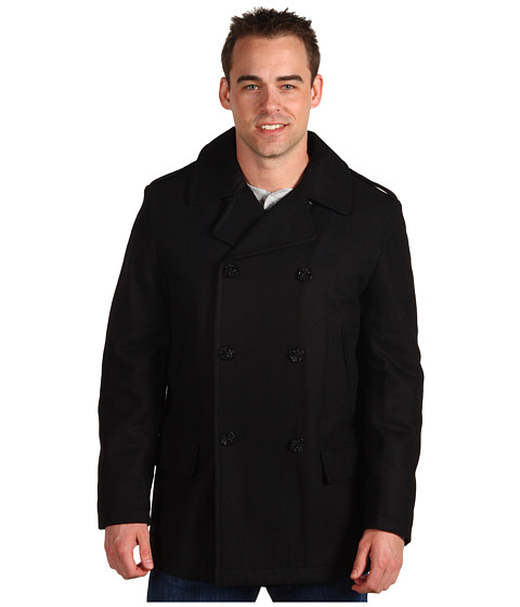 Jachete Nautica - Wool Melton Peacoat - Black