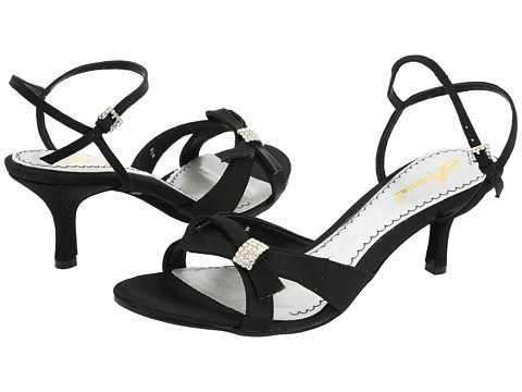 Pantofi Annie - Engagement - Black Satin
