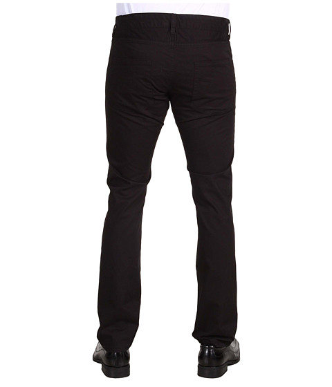 Pantaloni French Connection - Machine Gun Stretch 5-Pocket Pant - Black
