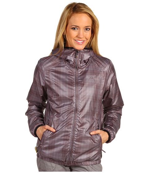 Jachete Lole - Wind Fuzzy Jacket - Plaid Raisin