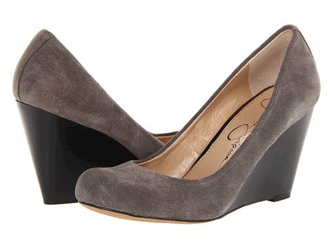 Pantofi Jessica Simpson - Kellie - Charcoal Split Suede