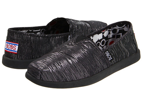 Adidasi SKECHERS - Bobs - World - Black