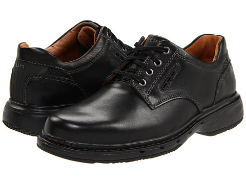 Pantofi Clarks - Un.Centre - Black Leather