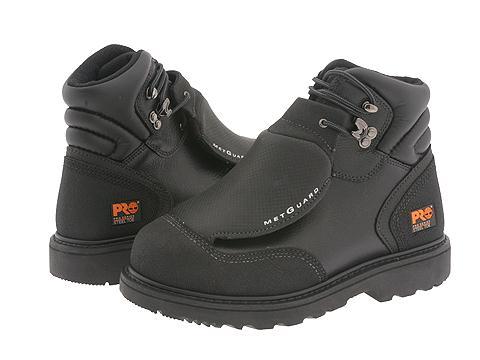 "Ghete Timberland - Met Guard 6\"" Steel Toe - Black Ever-Guard Leather"