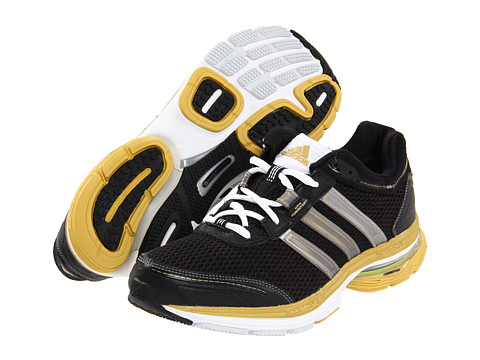 Adidasi Adidas Running - adiSTAR® Solution 2 M - Black/Metallic Gold/Metallic Silver