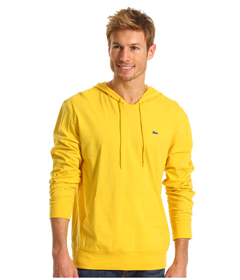 Bluze Lacoste - L/S Hooded Jersey Tee - Starfruit Yellow