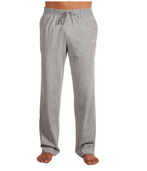 Pantaloni Nike - Classic Jersey Pant - Dk Grey Heather/White