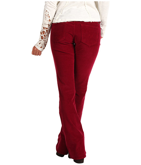 Pantaloni Lucky Brand - Sweet N\ Low Corduroy Pants - Velvet Cherry
