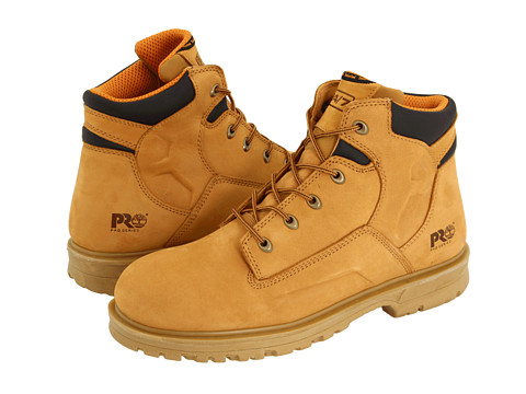 "Ghete Timberland - Magnus 6"" Soft Toe - Wheat Nubuck"