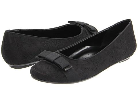 Balerini Vaneli - Selby - Black Lace/Black Leather