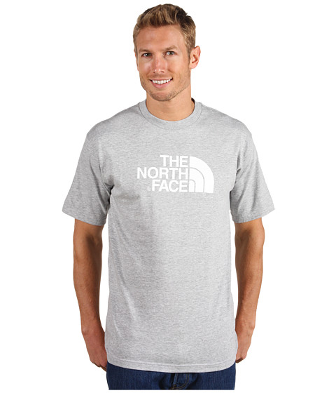 Tricouri The North Face - S/S Half Dome Tee - Heather Grey/TNF White