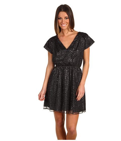 Rochii BCBGeneration - Shoulder Pleat Mini Dress - Black