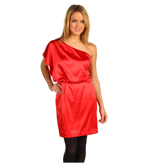 Rochii Jessica Simpson - One Shoulder JS1A3164 - Red