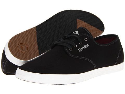 Adidasi Emerica - The Wino - Black/Grey/White Cotton Twill