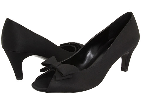 Pantofi Vaneli - Marry - Black Satin