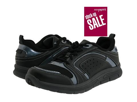 Adidasi Easy Spirit - Litewalk - Black/Dark Grey Leather