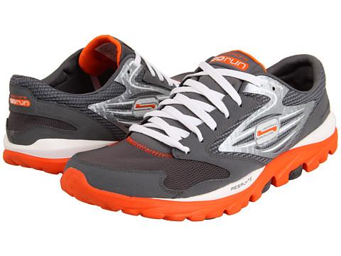 Adidasi SKECHERS - GOrun - Charcoal/Orange