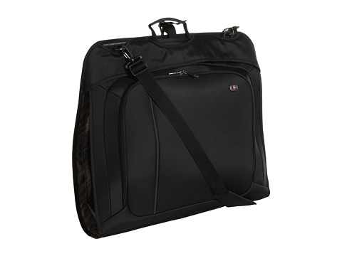 Genti de voiaj Victorinox - Werks Travelerâ⢠4.0 - WT Deluxe Slim Garment Bag with Carrying Strap - Black/Black