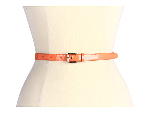 Curele Cole Haan - Village Skinny Belt - Creamsicle Patent