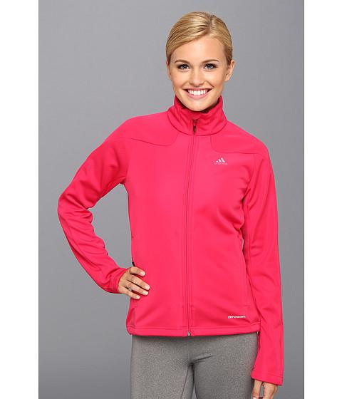 Bluze adidas - Hiking 1Side Fleece Jacket - Vivid Berry