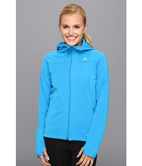 Bluze adidas - Hiking 1Side Hoodie 2 - Solar Blue