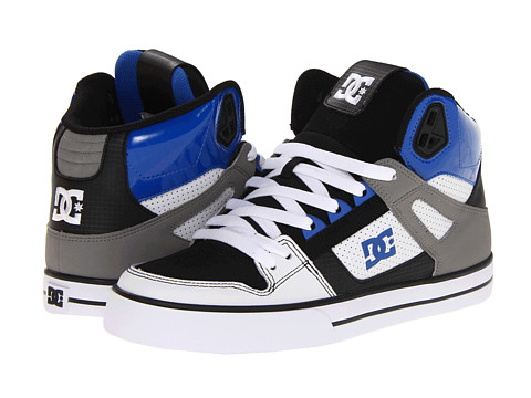 Adidasi DC - Spartan Hi WC - White/Grey/Blue