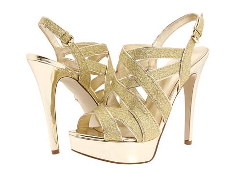 Sandale GUESS - Kio - Gold/Platino