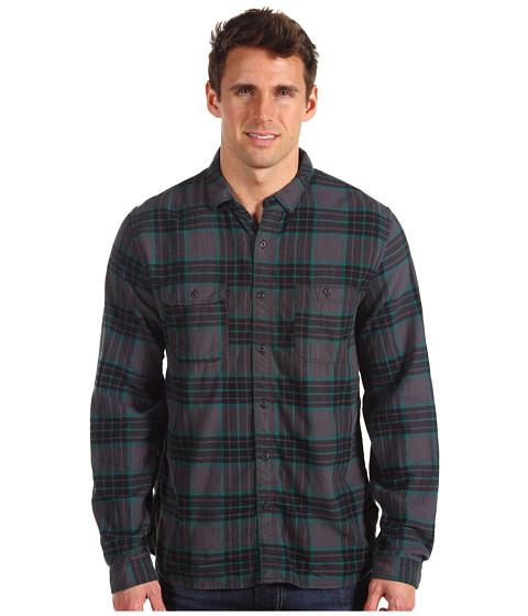 Bluze Converse - L/S Wrinkle Plaid Shirt - Storm Plaid